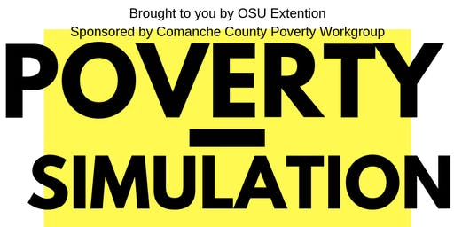 Comanche County Poverty Simulation for Decision Makers