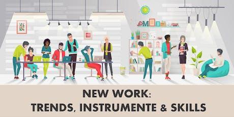 Virtuelle Masterclass: New Work - Trends, Instrumente & Skills Tickets