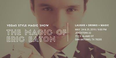 The Magic of Eric Eaton LIVE at Jokesters 22
