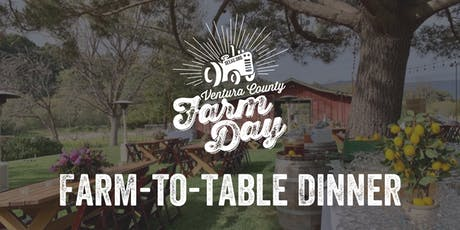 Ventura County Farm Day Farm-to-Table Dinner tickets