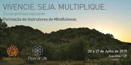 Formação Profissional de Mindfulness - Módulo I (Jul/2019) ingressos