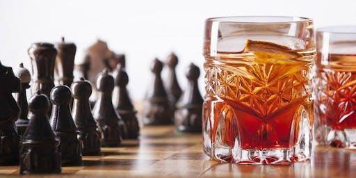 The Knights of F Street: Chess + Scotch at Scotts DC