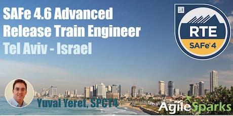 SAFe 4.6 Release Train Engineer (RTE) - Tel Aviv Israel - June 2019 tickets