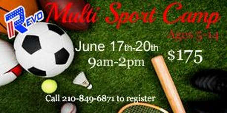 Revo Summer Multi-Sport Camp tickets