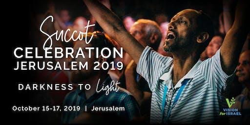 Succot Celebration Jerusalem 2019: Darkness to Light