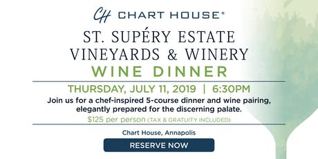 Chart House St. Supéry Estate Wine Dinner- Annapolis, MD tickets