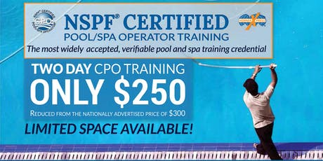 HornerXpress® NSPF Certified Pool/Spa Operator Training (St. Petersburg) tickets