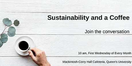 Sustainability and a Coffee tickets