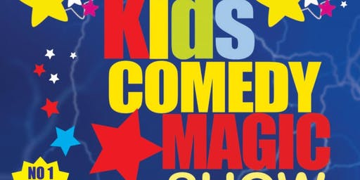 Kids Comedy Magic Show 2019 Tour - GALWAY