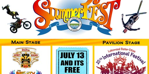 """Lakewood SummerFEST, Where there is a """"WOW"""" factor!"""