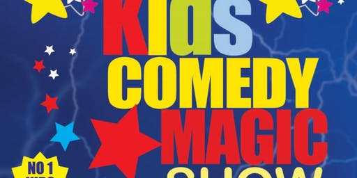 Kids Comedy Magic Show 2019 Tour - DROGHEDA