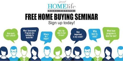 Fall Home Buyer Seminar