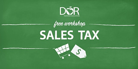 Sales Tax Workshop tickets