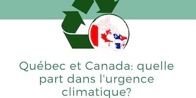 Québec et Canada : quelle part dans l\