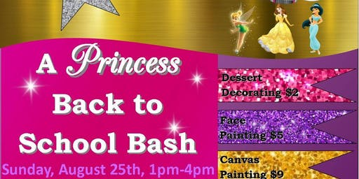 * Back to School Princess Event w/ Baby Shark