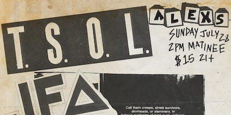 TSOL tickets