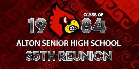 Class of 1984 Alton Senior High School Class Reunion  tickets