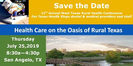 11th Annual West Texas Rural Health Conference tickets