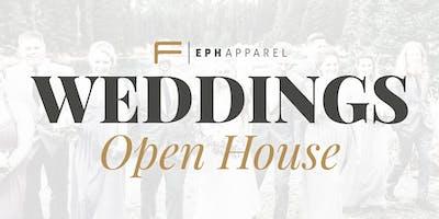 Eph Weddings Calgary - April Open House