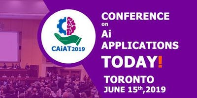 CAiAT 2019 (Conference on AI Applications Today)