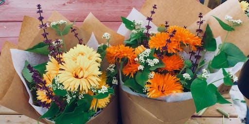 Les ateliers du Haut Perché: Les fleurs coupées et les bouquets composés