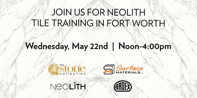 Neolith Tile Training