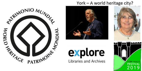 Talk: York - A world heritage city? tickets