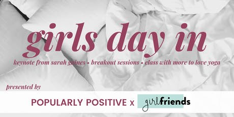 Pop Pos X Girlfriends Boston: Girls Day In tickets