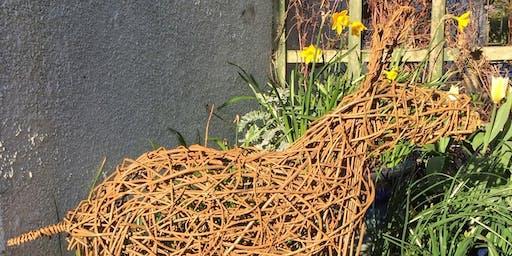 Inspired by... Willow Weaving Workshop: Standing Deer