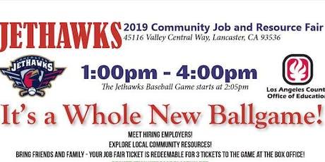 Jethawks Community Job & Resource Fair tickets
