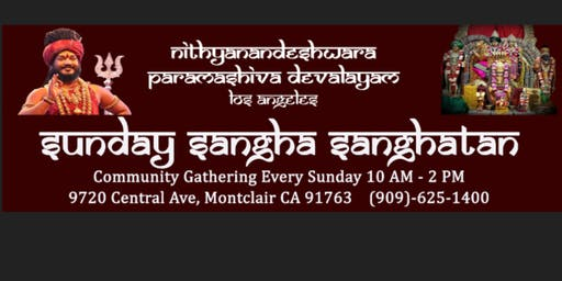 Sunday Sangha Sanghatan:  Spiritual Community Gathering Every Sunday