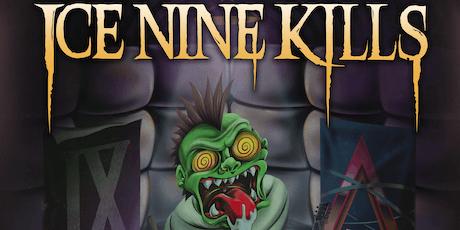 Ice Nine Kills w/ Toothgrinder, Phinehas, Hawk tickets