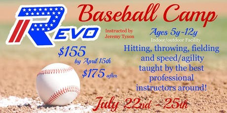 Baseball Summer Camp tickets