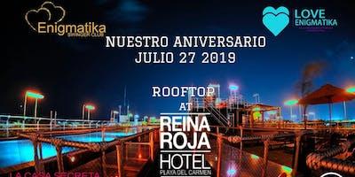 NUESTRO ANIVERSARIO | ROOFTOP BY REINA ROJA HOTEL