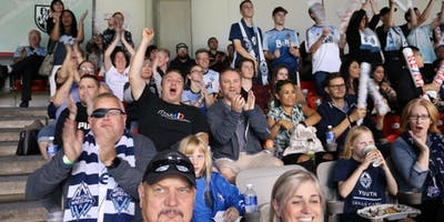 MoveUP Youth Action Committee Invites MoveUP Young Workers to a Vancouver Whitecaps FC Game