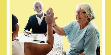 Seniors Social: Games for Seniors  tickets