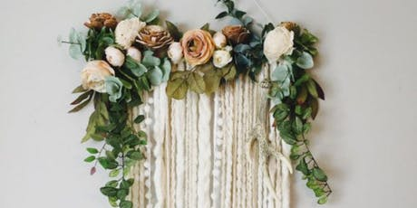 Macrame Wall Hanging - SAVE 40%!! tickets