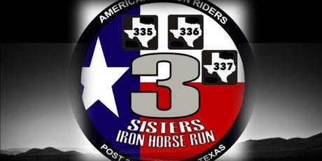 3-Sister IronHorse Run 2019 tickets