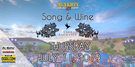 95.3 KRTY & DeMattei Construction Present 2019 Song & Wine Series Thu July 11 tickets