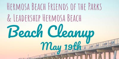 Beach Cleanup - HB Friends of the Parks & Leadership HB