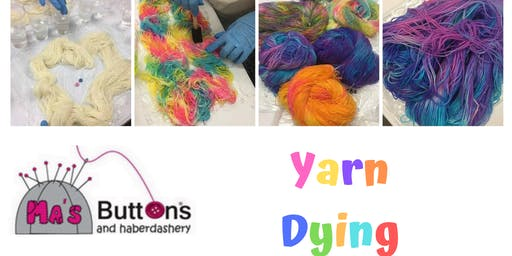 Yarn Dying Workshop