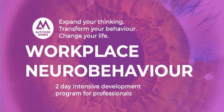 Workplace Neurobehaviour  - 14th  & 15th August tickets