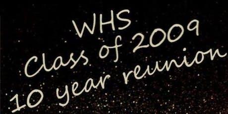 Wayne High School Class of 2009 - 10 Year Reunion tickets