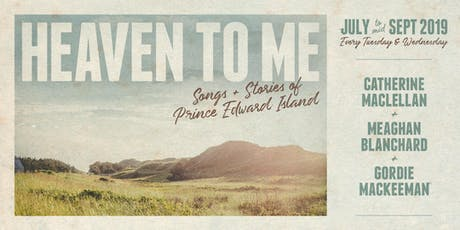 Heaven To Me - September 3rd, 2019 tickets