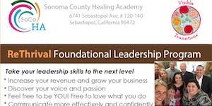 """ReThrival"" ~ Foundational Leadership Program w/Janet..."