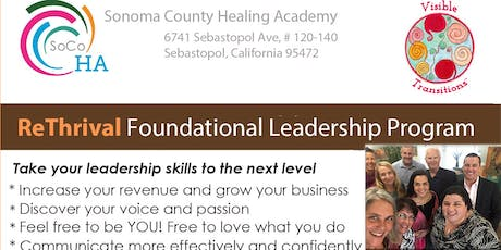 """ReThrival"" ~ Foundational Leadership Program w/Janet Caliri  tickets"