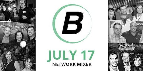 Reno Networking Mixer - Breakthrough Network - July 2019 tickets