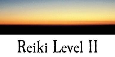 Reiki Level II
