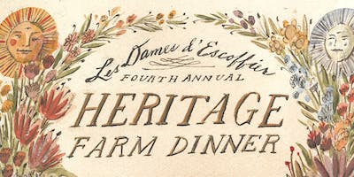 4th Annual Heritage Farm Dinner honoring Ellen Yin