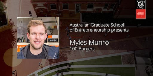 Learning from Entrepreneurs Series with Myles Munro
